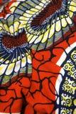 非洲蜡染布 免版税库存照片