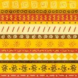 非洲装饰品 向量例证