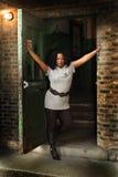 非洲裔美国人的妇女 免版税库存照片