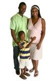 非洲裔美国人的父项 免版税库存照片