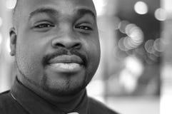 非洲裔美国人的生意人 免版税库存照片