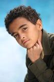 非洲裔美国人的男孩 库存图片