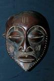 非洲部族面具- Bakoba部落 库存图片
