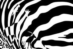 非洲野生生物 皇族释放例证