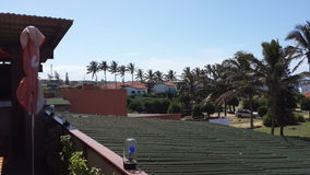 非洲镇在莫桑比克 库存图片
