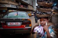 非洲,塞拉利昂,弗里敦 免版税图库摄影