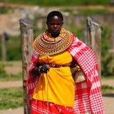 从非洲,肯尼亚的人们 免版税库存照片