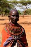 从非洲,肯尼亚的部族人 免版税库存照片