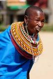从非洲,肯尼亚的部落的人们 库存照片
