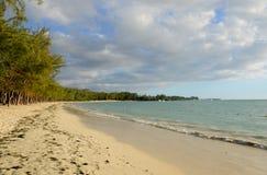 非洲, Mont Choisy美丽如画的区域在毛里求斯 免版税库存照片