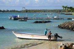 非洲, Mont Choisy美丽如画的区域在毛里求斯 免版税库存图片