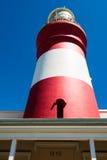 非洲agulhas南海角的灯塔 库存图片