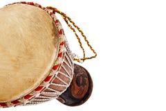 非洲djembe鼓 图库摄影
