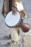 非洲djembe鼓 免版税图库摄影