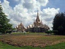 非Kum寺庙在呵叻,泰国 免版税库存照片