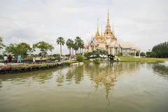 非Wat Kum寺庙,呵叻,泰国 库存图片