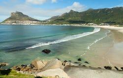 靠岸在南非的西开普省省的Hout海湾 免版税库存照片