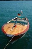 靠码头的小船 图库摄影