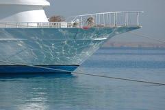 靠码头的小船 库存照片
