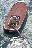靠码头船 库存图片