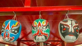 面具日本 库存照片