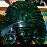 面具玛雅人 免版税库存图片