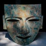 面具玛雅人 库存照片