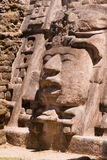 面具的寺庙 免版税库存照片