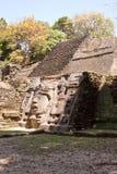面具的寺庙 免版税图库摄影