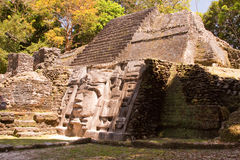 面具的寺庙 免版税库存图片