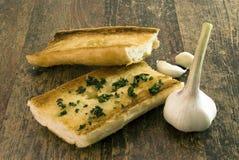 面包丁香大蒜 库存图片