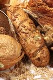 面包不同的种子 免版税库存图片