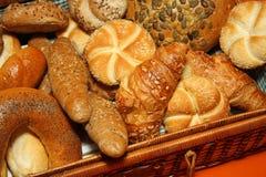 面包不同的种类 库存照片