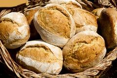 面包传统地中海的西班牙 免版税库存照片