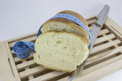 面包做您获取重量 库存照片