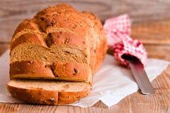 面包全部JPG的麦子 免版税库存图片
