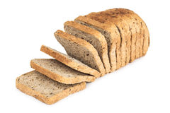 面包切了 免版税库存照片