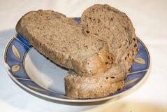 面包切了 免版税库存图片