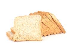 面包剪切大面包 免版税库存照片