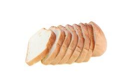 面包剪切查出的片式 图库摄影