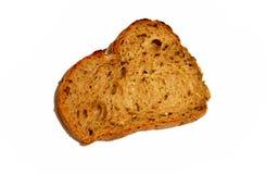 面包剪切牌照片式 图库摄影