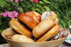 面包和卷 库存图片