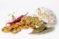 面包和味道 免版税库存照片
