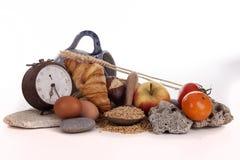 面包和早餐 免版税库存图片