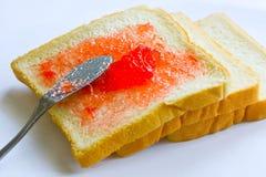 面包和果酱 免版税库存图片