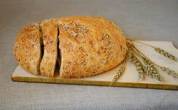 面包和麦子 库存图片