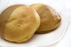 面包咖啡 库存照片
