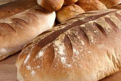 面包国家(地区)叶子大面包模式 库存图片