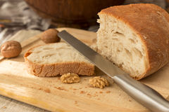 面包在厨房里 免版税库存图片
