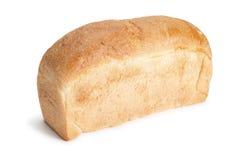 面包在白色的查出的大面包 免版税图库摄影